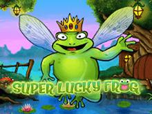 Автомат Супер Удачливая Лягушка – играйте на деньги